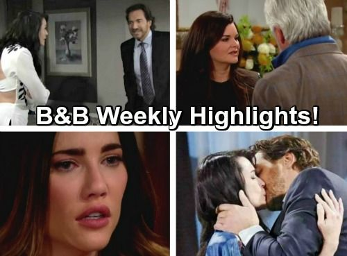 The Bold And The Beautiful Spoilers Katie Gets Close With Eric While Quinn Kisses Ridge Liam Gives Steffy A Harsh Ultimatum Reich Und Schon