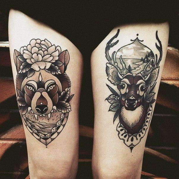 Pin De Wiesia Em Tattoo Tatuagem Na Coxa Tatuagem Coxas Femininas