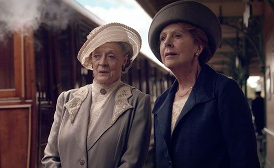 What a wonderful duo these two have been in Season 5 of Downton Abbey