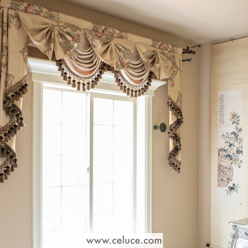 Enjoy The Premium Quality Of Custom Made Curtain From Www Celuce Com With The Convenience And Affordability Of Pre De Swags And Tails Curtains Unique Curtains