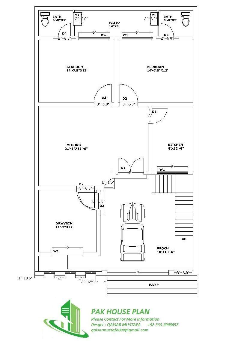 Qaisar Simple House Plans House Plans Simple Floor Plans