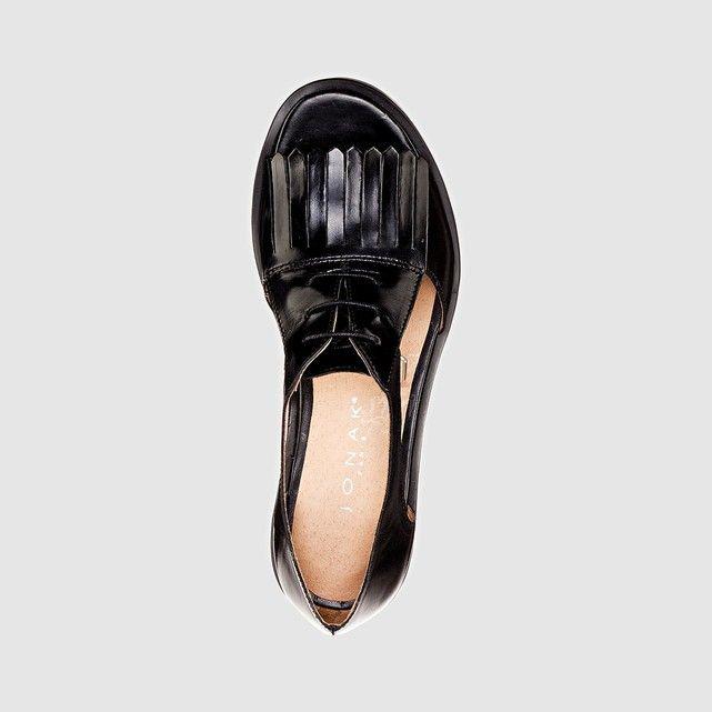 Sandales cuir plates ajourées JONAK   Chaussures   Pinterest 1f6fee959c8d