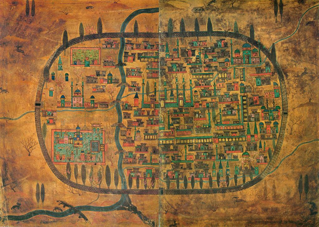 The Maps Of Matrakci Nasuh Ottoman Polymath The Public Domain Review Ancient Maps Antique Maps Map Art