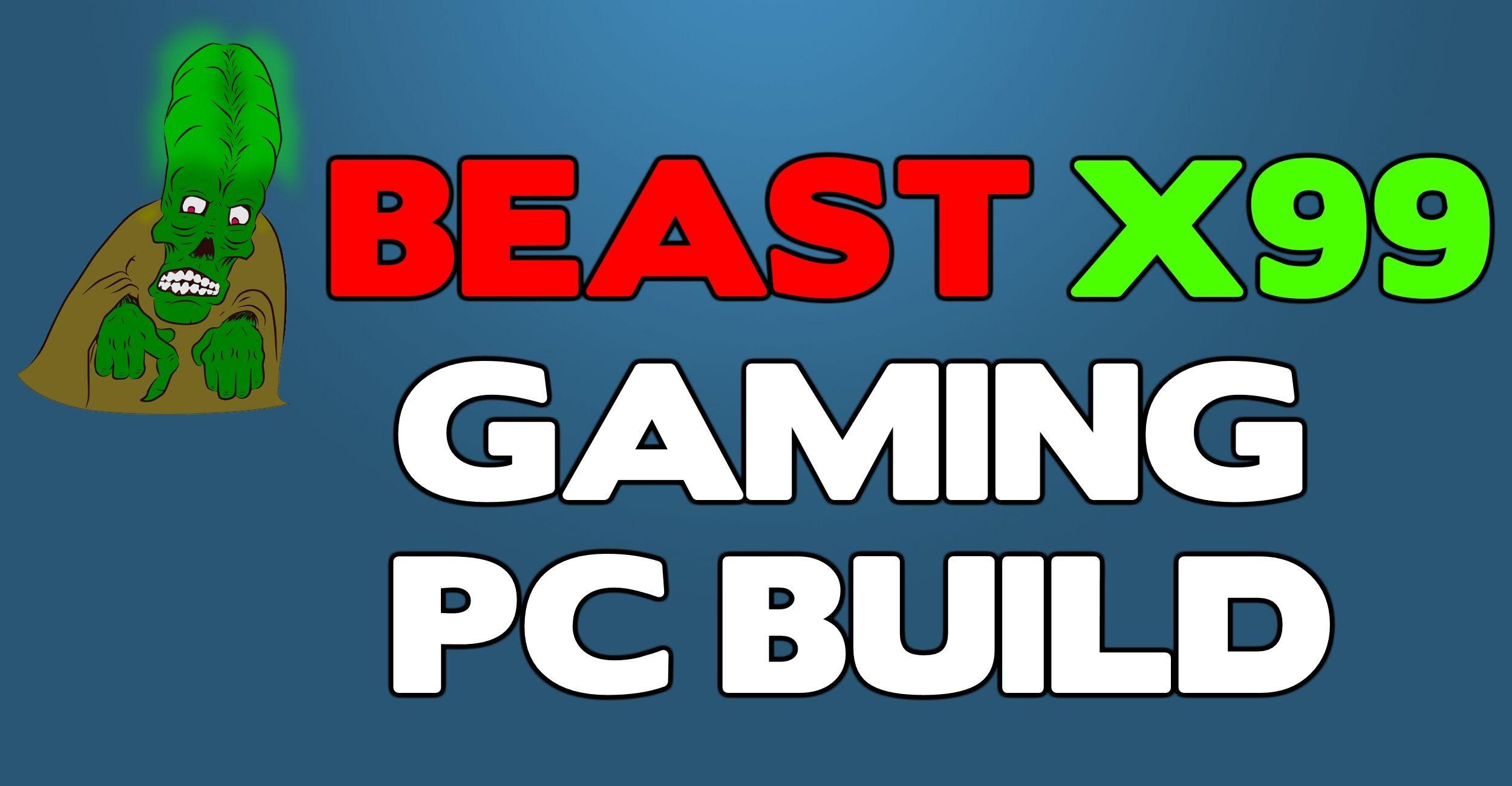 "A ""money no object"" beast X99 PC build - December 2015"