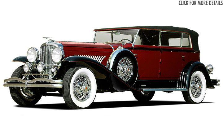 1929 Duesenberg Model J Murphy Convertible Berline - Salon Collection Car