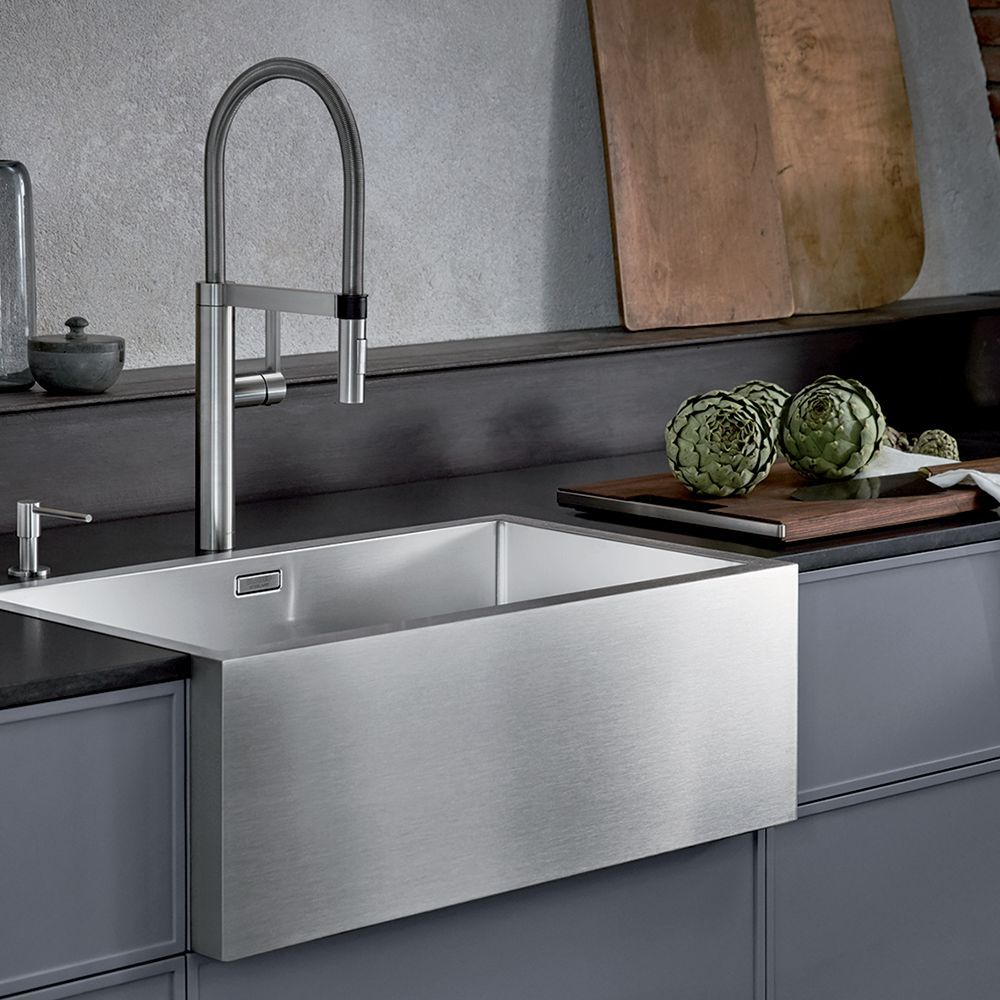 Blanco Cronos Xl 8 If Single Bowl Farmhouse Kitchen Sink