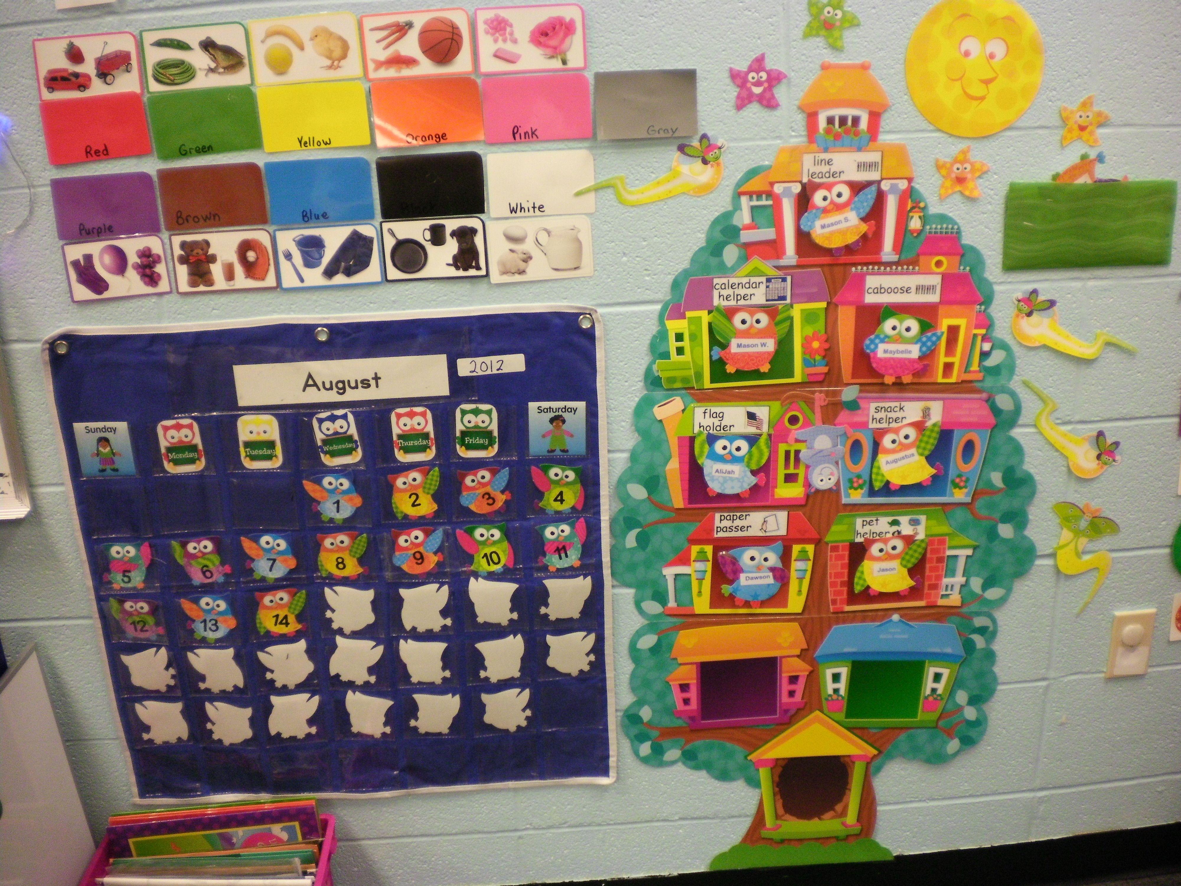 Circle Time Wall My Classroom Pinterest