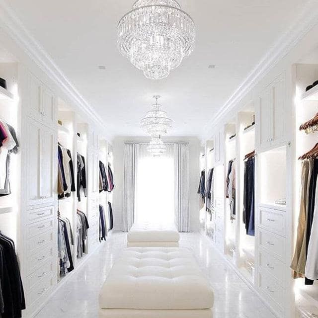 17 Pinterest-approved wardrobes that are guaranteed to give you closet envy #dreamclosets