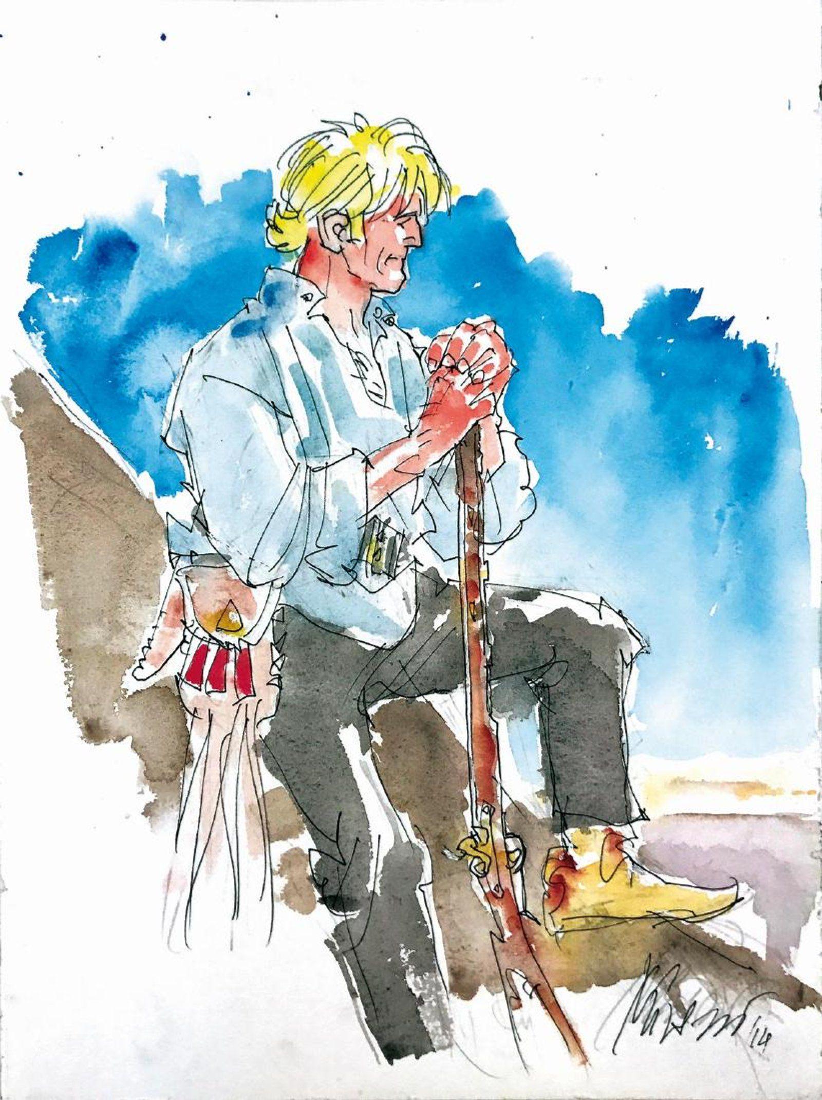 IVO MILAZZO - Ken Parker - originele art. - W.B. | Ken parker ...