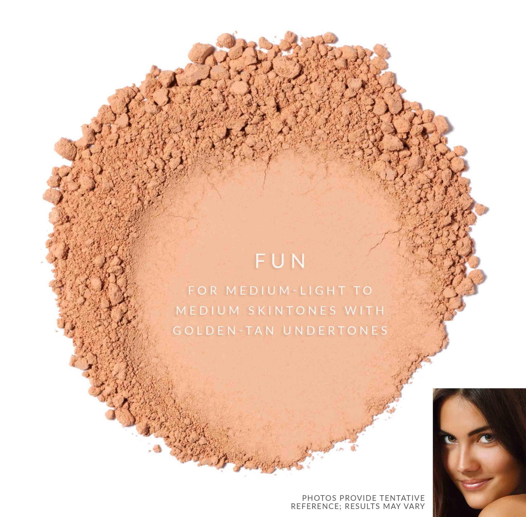Omiana SubtleCoverage Loose Powder Foundation Without