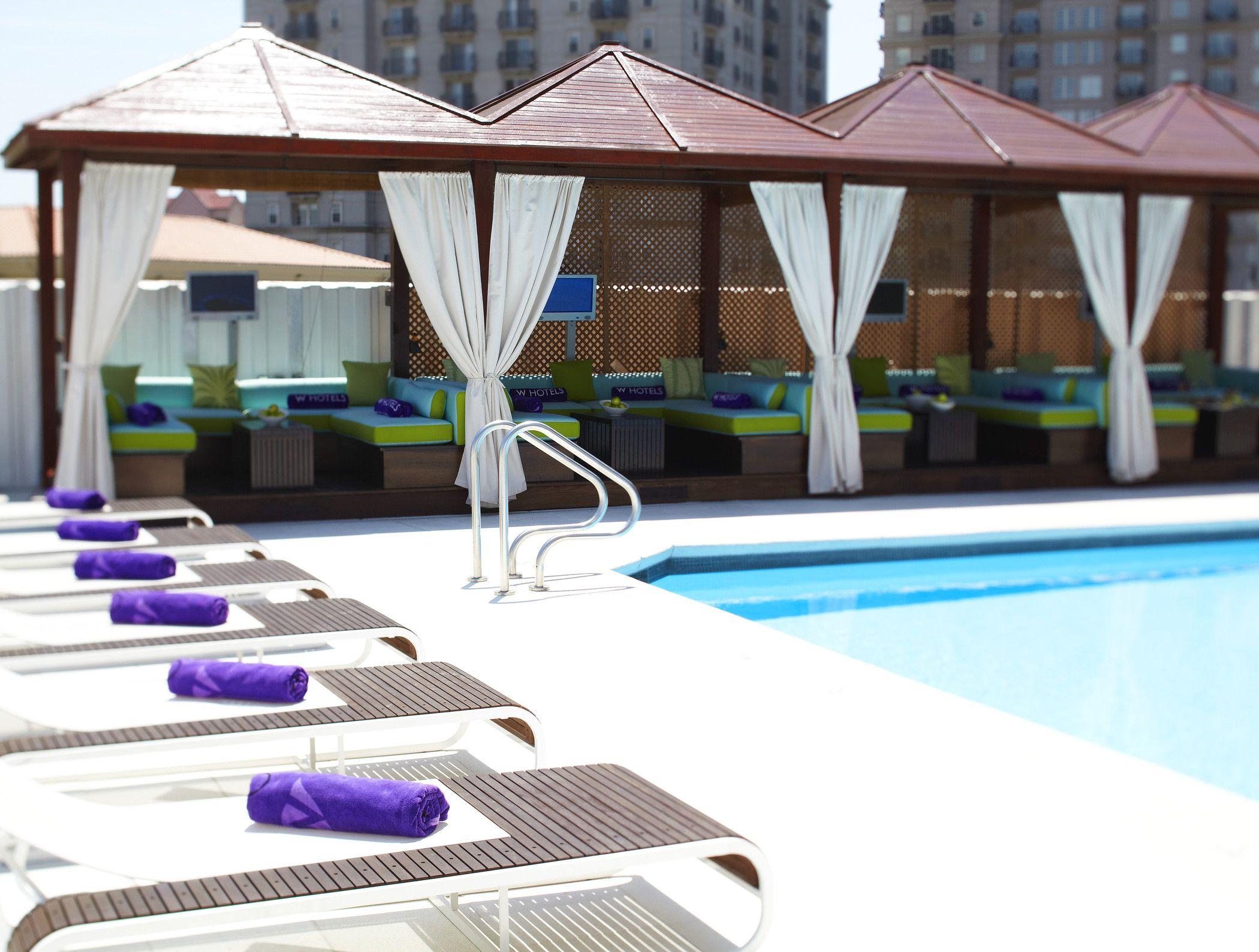 Heaven! Hotel pool, Atlanta midtown, Atlanta hotels