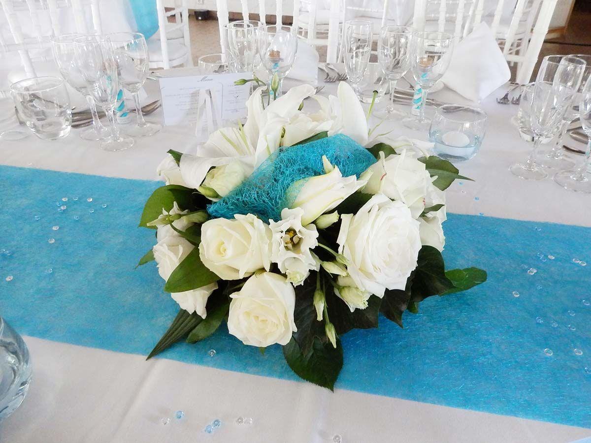 Mariage Turquoise Et Blanc Mariage Turquoise Mariage Deco Diy