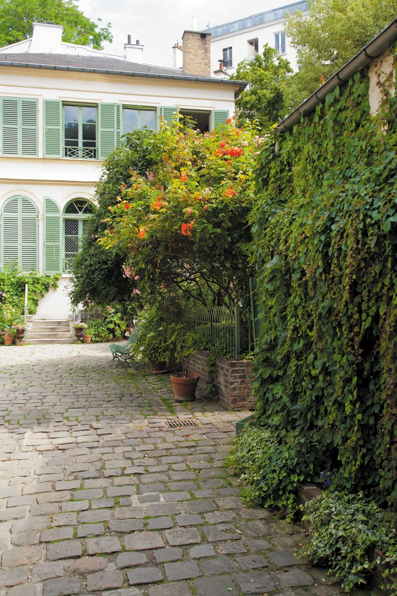 Mus e de la vie romantique art museum in paris le de - Jardin du musee de la vie romantique ...