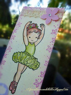 Il giardino incantato di alice b di ballerina impronte d 39 autore stamps pinterest - Il giardino di alice ...
