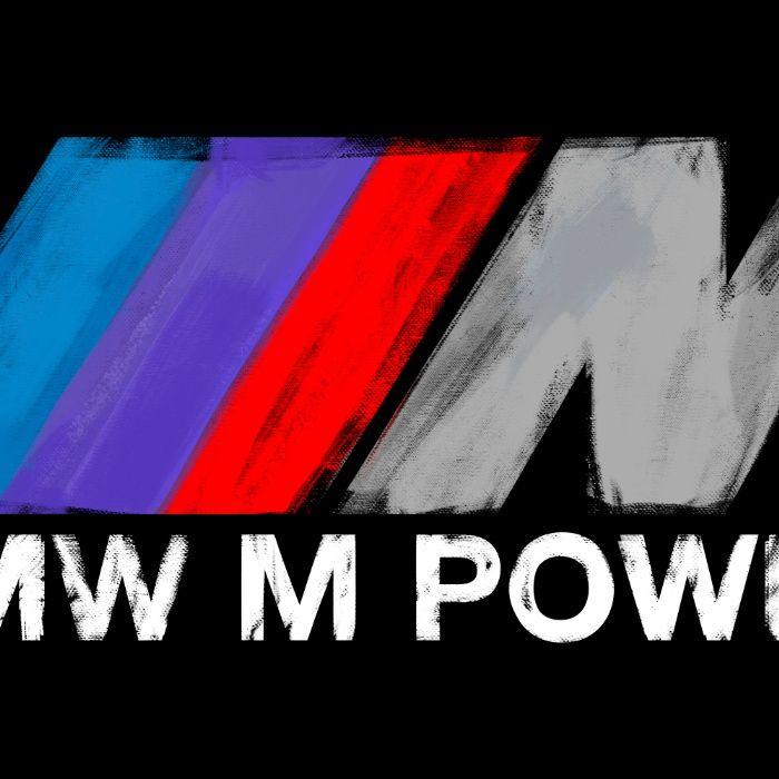 BMW M Power Logo Painting Mug By Pisthead