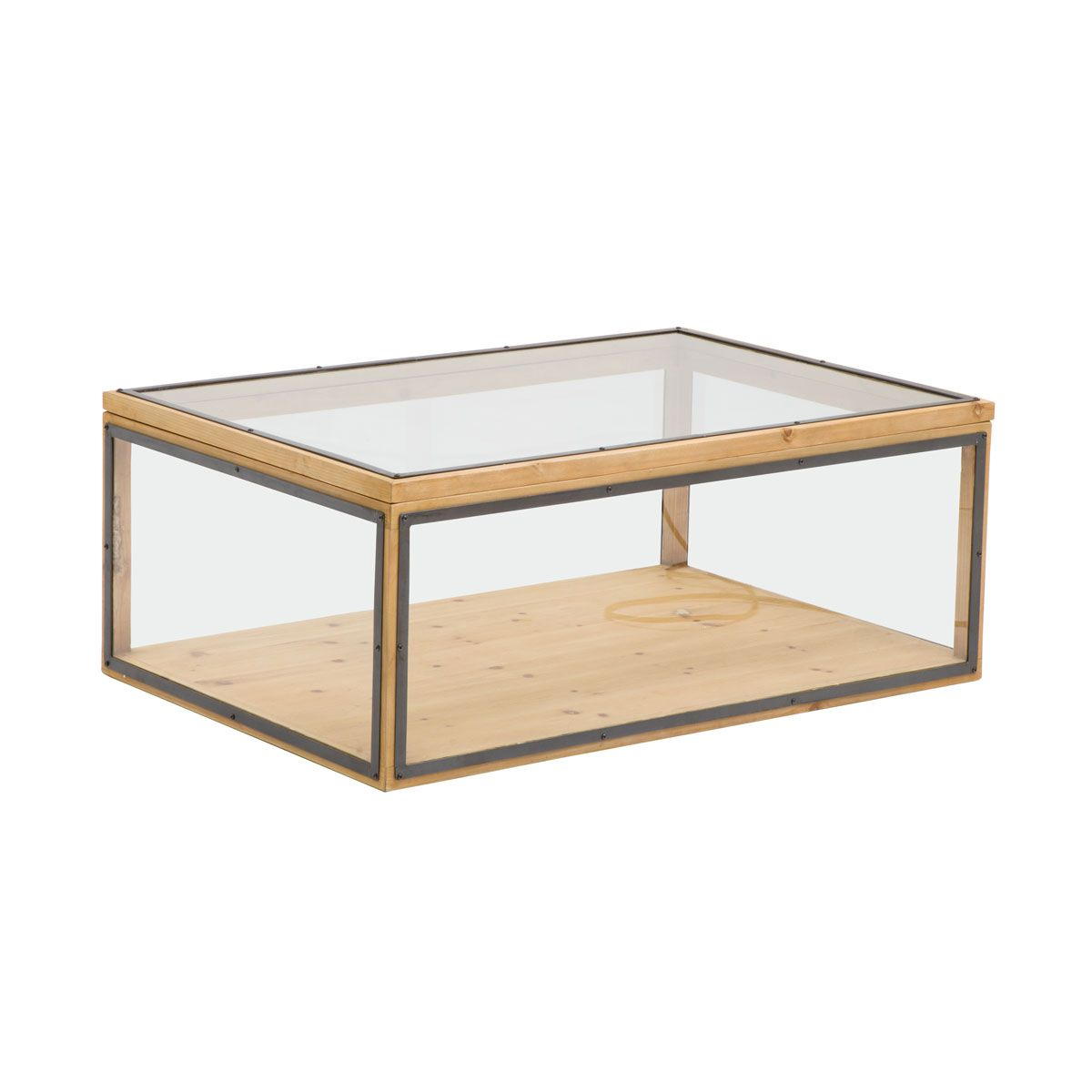 Table Basse Coffre Vitre Plateau Relevable In 2020 Table Coffee Table Decor