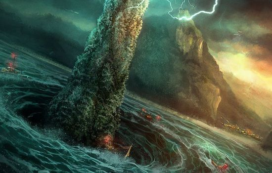 Charybdis Was Interpreted As Either A Sea Monster Or As A