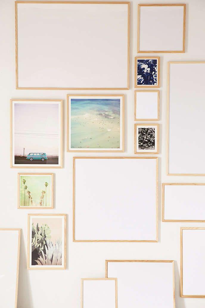 natural wood art print frame - Natural Wood Frames