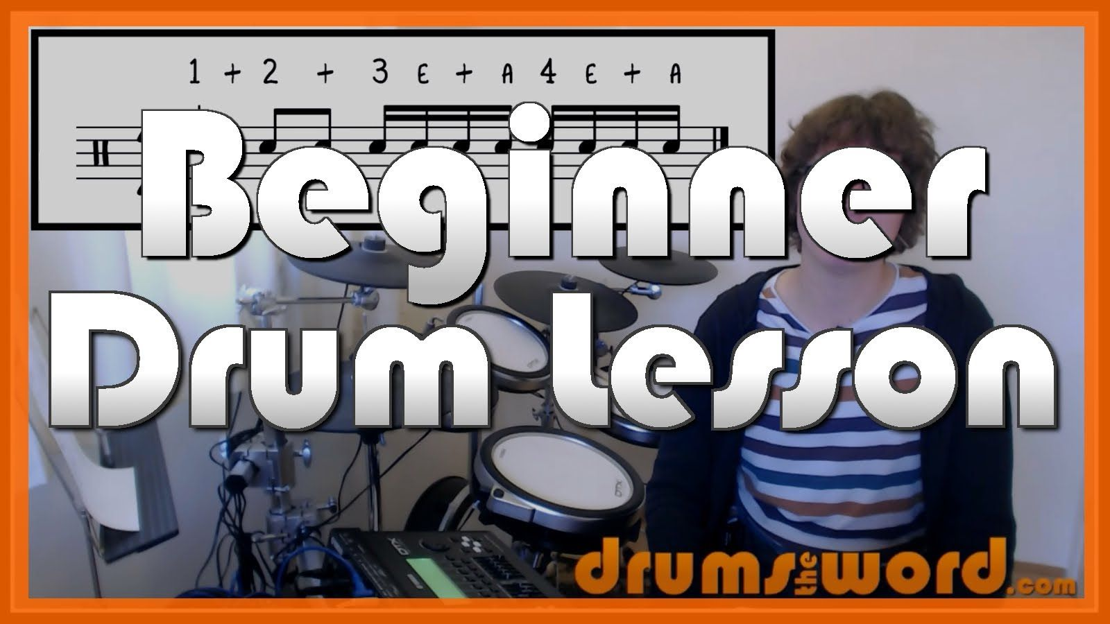 How to read drum music part 1 of 3 free video drum