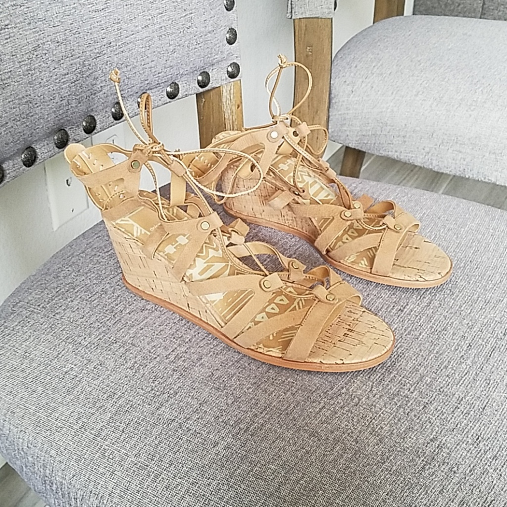 Dolce Vita Shoes | Sale! Dolce Vita Gladiator Wedge Sandal 2
