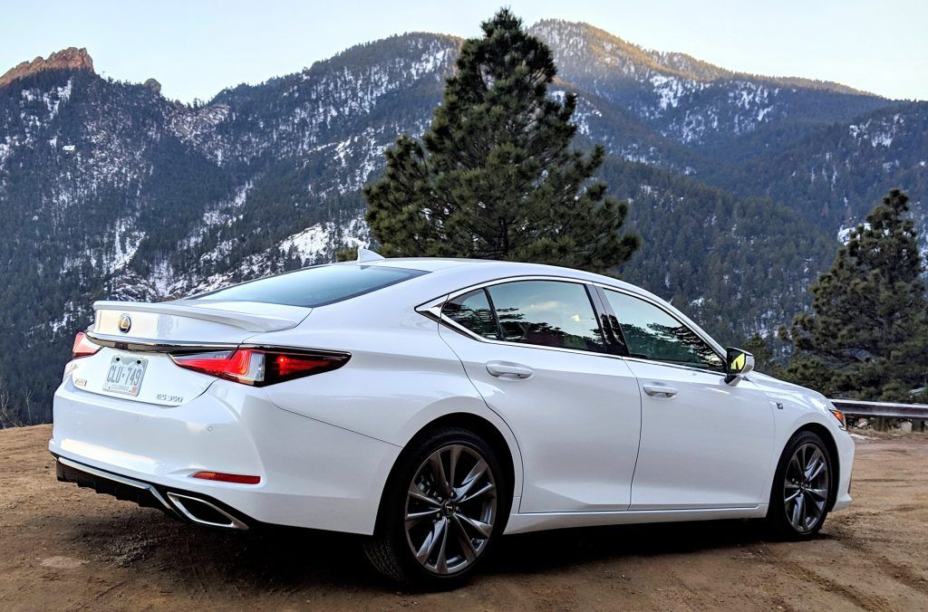 2019 Lexus Es 350 F Sport Review Is It A Thrilling Sports Sedan The Fast Lane Car Lexus Es Sports Sedan Lexus