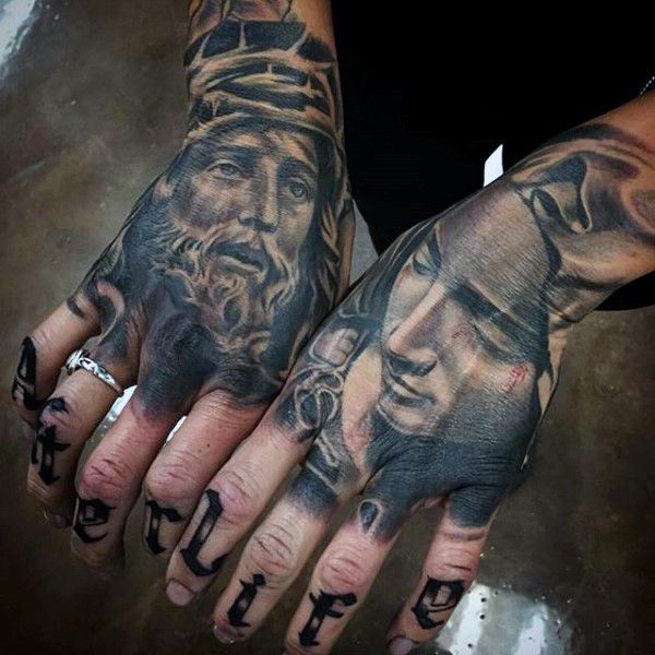 Top 101 Jesus Tattoo Ideas 2020 Inspiration Guide Hand