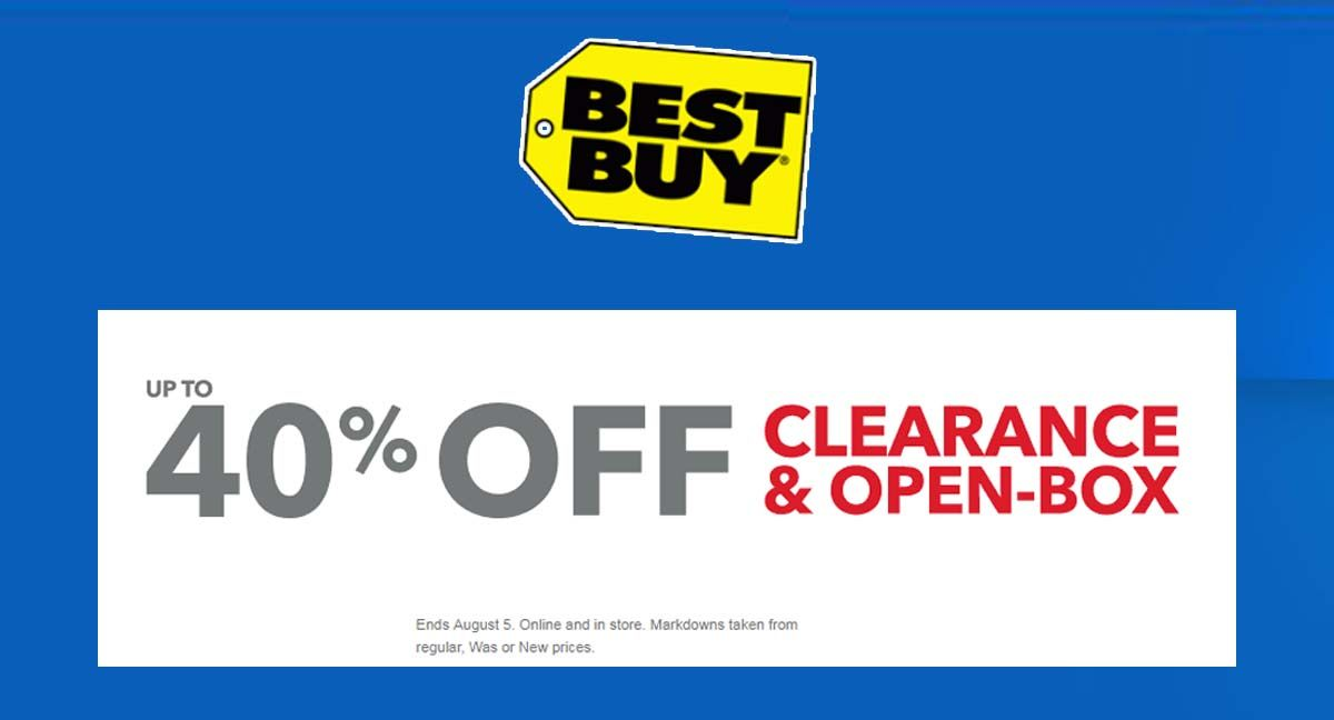 Up To 40 Off Clearance Open Box At Best Buy Https Goo Gl Io3jxb Electronics Accessories Home Applian Cool Things To Buy Best Buy Coupons Promo Codes