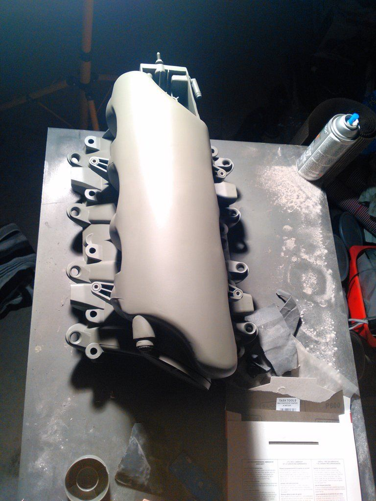 Shaved Ls Manifold Post 1 Ls Engine Swap Ls Engine Engine Swap
