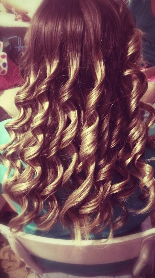 How to get fantastic curls, using a wand!