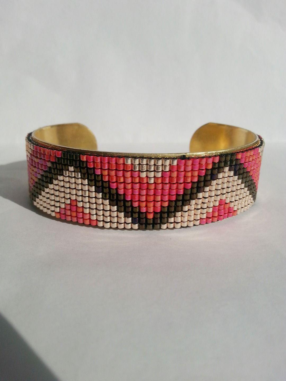 Bracelet Metier A Tisser En Perles Miyuki Armbandjes Maken
