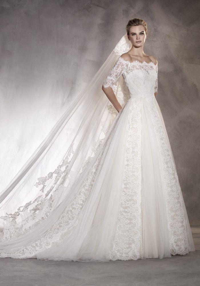 1da3fe990236 Pronovias Otilde Wedding Dress 2017 Pronovias t