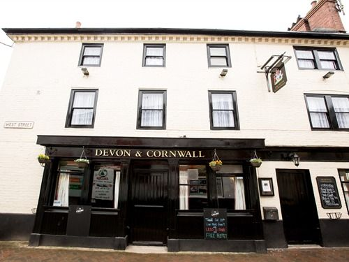 The Devon & Cornwall in local Millbrook Village (possible walking distance from Marigold, 1 mile)