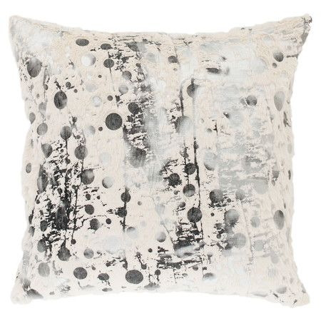 Raina Pillow Set of two pillows with abstract motifs.   Product: Set of 2 pillowsConstruction Material: PolyesterC...