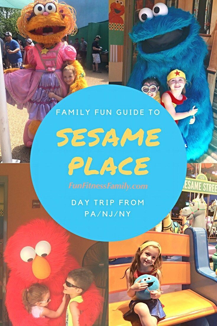 Quick guide sesame place day trip from philadelphianjny