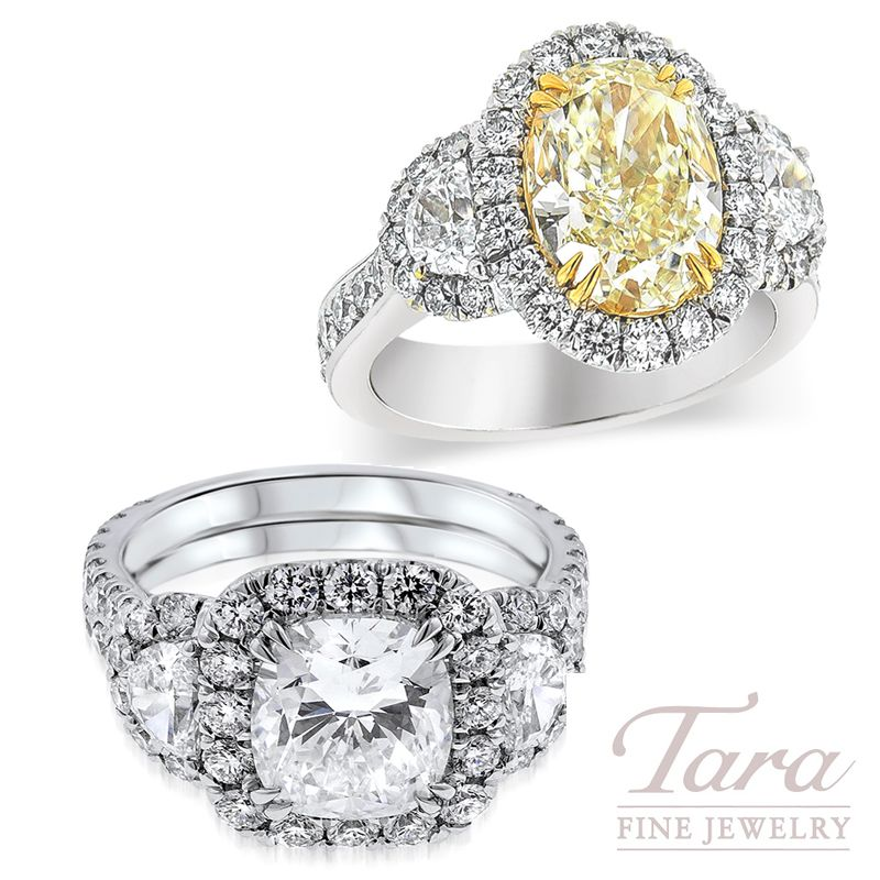 We Have The Best Variety Of Luxury Diamonds In Atlanta Whether You Prefer A Radiant Fancy Yellow Diamond Or A Stu Luxury Diamonds Top Engagement Rings Jewelry