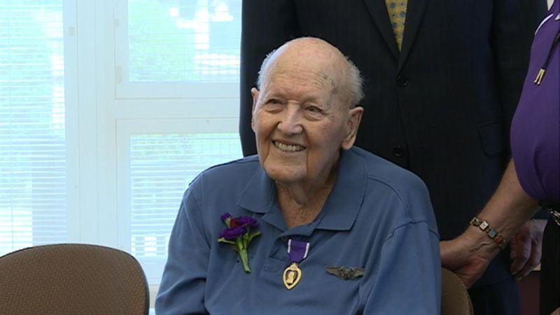 Chippewa falls wwii veteran and pow finally gets purple