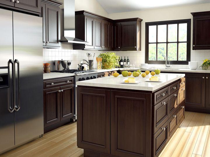 Cornerstone Kitchens In Alder Canyon Creek Hardwood Floors In