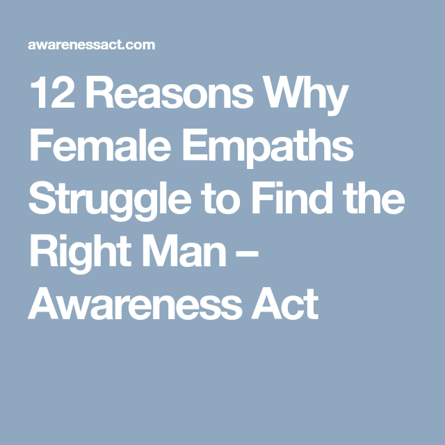 female empaths and relationships