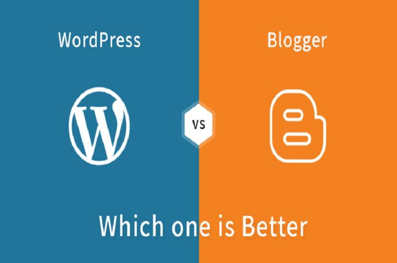 Photo of Which one is better Blogger or WordPress to start Blogging