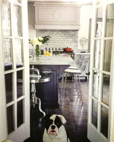 Kate Patterson S Kitchen In Brookline Ma With Custom Cabinetry By Cw Designs Awesome Dog