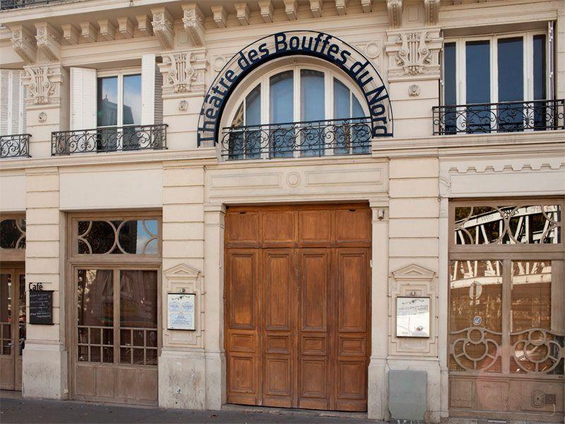 Legendäres Theater, neuer Schriftzug: Das Pariser Studio Des Signes gestaltet ein neues Namensschild für Peter Brooks Théâtre des Bouffes du Nord