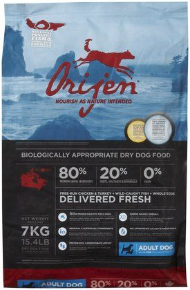 Orijen Dog Dog Food Recipes Free Dog Food Dry Dog Food