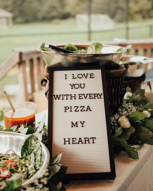 Pizza Wedding Reception Ideas: 42 Backyard Wedding Ideas On A Budget For 2020