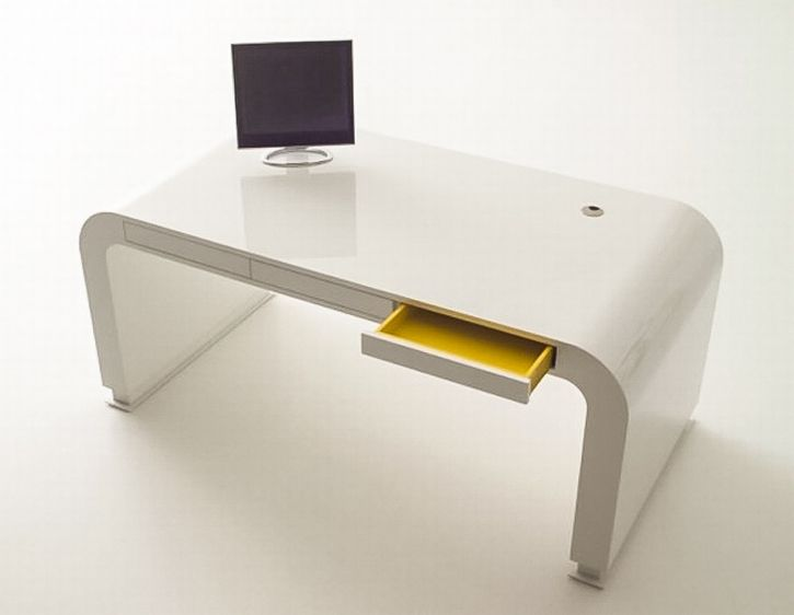 Modern White Desk Design Ideas 11197 Design Modern White Desk Computer Desk Design White Desk Design