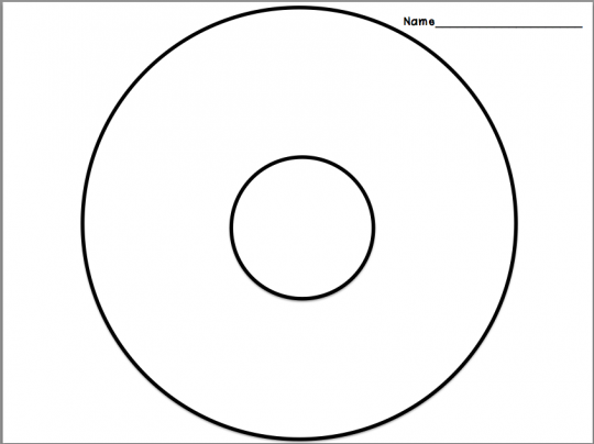 photo about Circle Map Printable referred to as circle map template -
