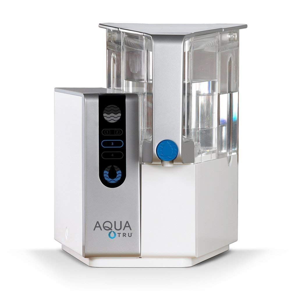 Aqua Tru Countertop Water Filtration Purification System With