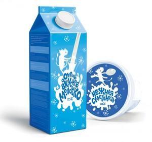 25 Cool and Creative Milk Packaging Ideas - PelFind