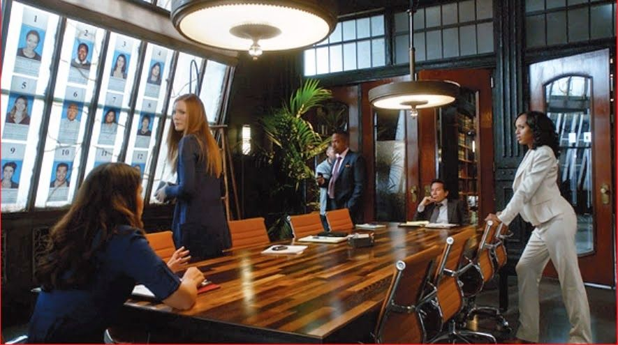 Cinema Style: The Sets Of Scandal