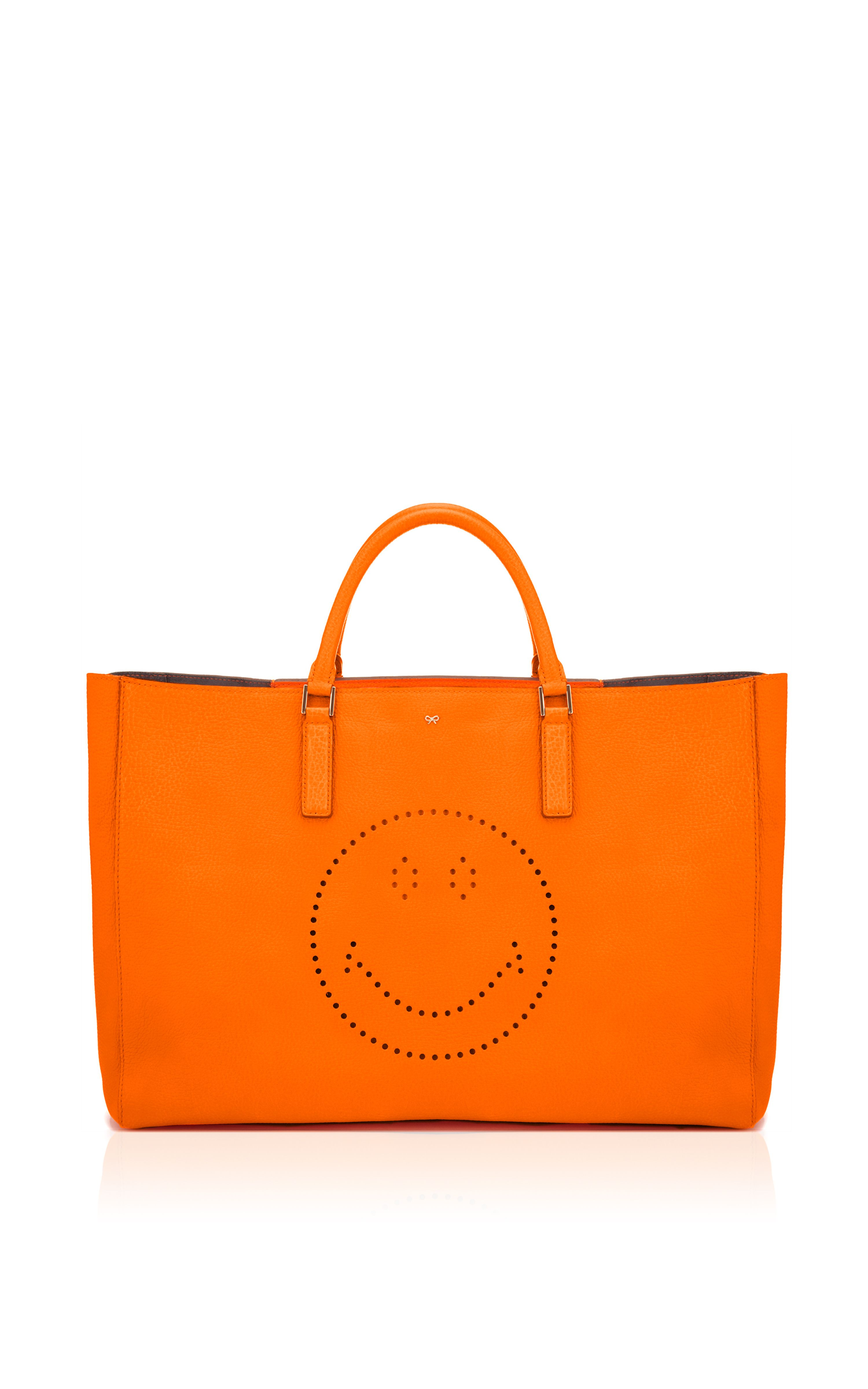 Perforated Maxi Featherweight Ebury by Anya Hindmarch for Preorder on Moda Operandi