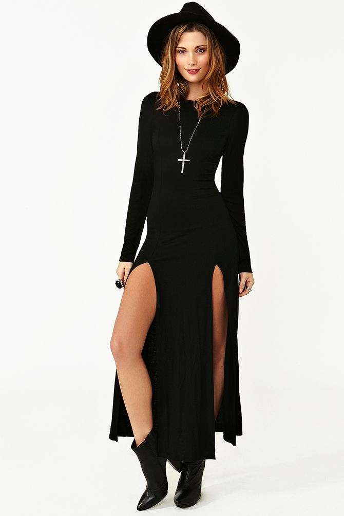Season Of The Witch Maxi Dress